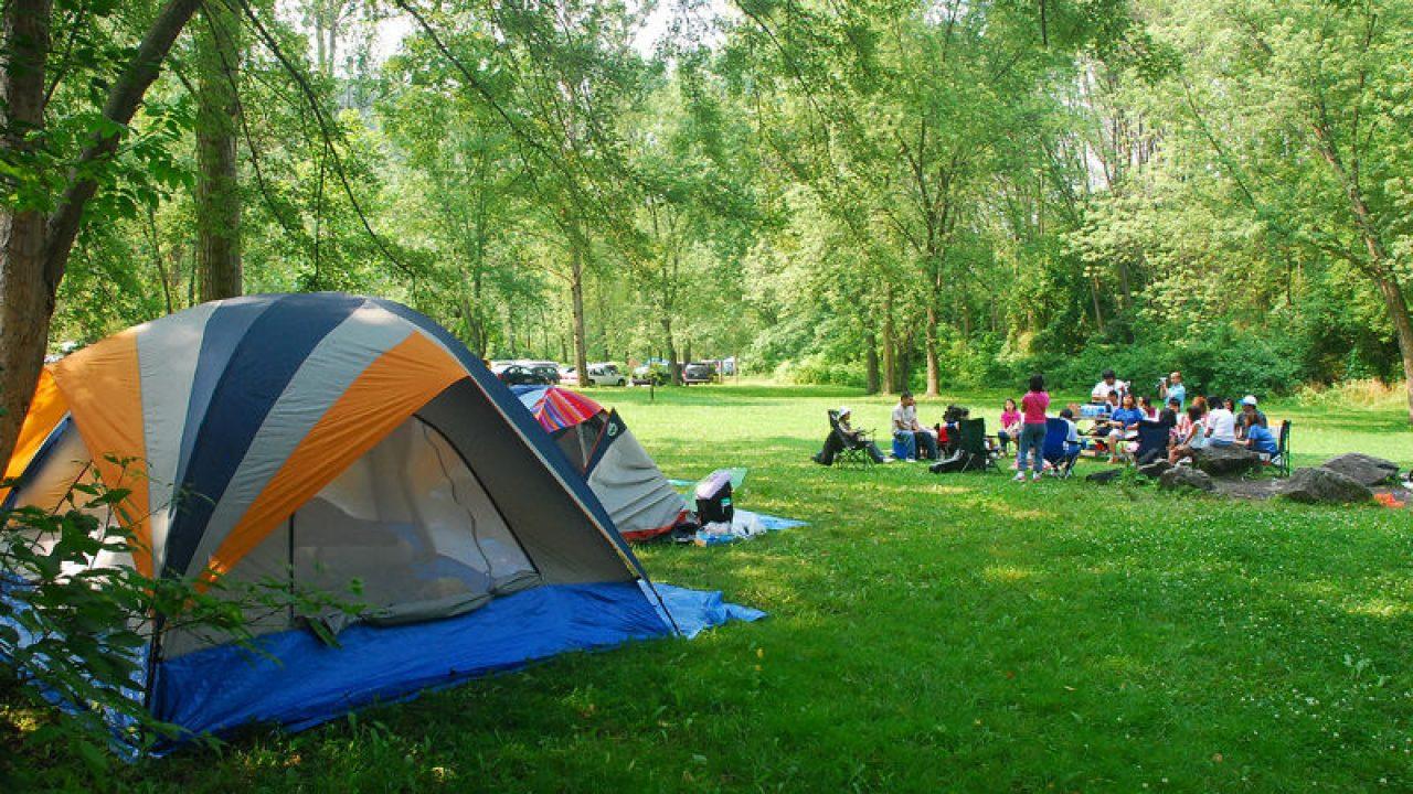 Beneficios para la salud de acampar